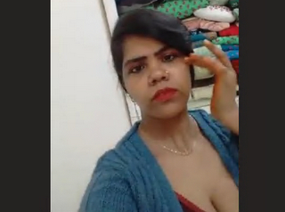 Desi Girl selfie record for bf 3 videos Part 1