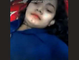 Bengali Girl Video Call with her Lover