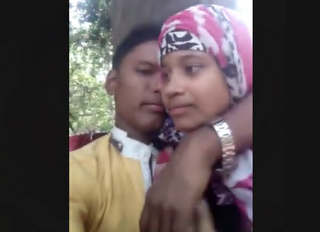 Bangladeshi Young Village Couple Romance And Boob Sucking In Jungle
