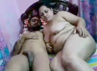 Hot aunty fucking with boyfriend